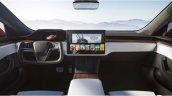 2021 Tesla Model S Dashboard