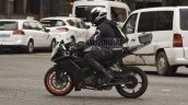 2021 Ktm Rc 390 Spy Shot Left