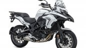 Bs6 Benelli Trk 502 White Front Right