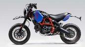 Custom Ducati Scrambler Desert Sled Left