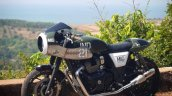Modified Royal Enfield Interceptor 650 Left