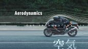 2021 Suzuki Hayabusa Left Side Aerodynamics