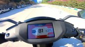 Ather 450x Top Speed Dash