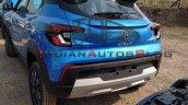 Renault Kiger Spied Rear Quarter