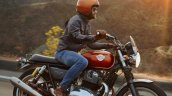 Royal Enfield Interceptor 650 With Male Rider In A