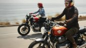 Royal Enfield Interceptor 650 With Riders