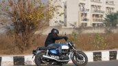 Honda Hness Cb 350 Lean Left