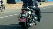 650cc Royal Enfield Cruiser Spy Shot Rear Right
