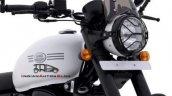 2021 Jawa 42 White Front Right Close Up