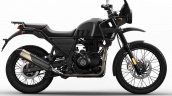 2021 Royal Enfield Himalayan Granite Black Right