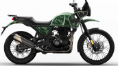 2021 Royal Enfield Himalayan Pine Green Right