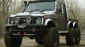 Maruti Suzuki Gypsy 6x6 Rendering Front Quarter