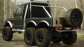 Maruti Suzuki Gypsy 6x6 Rendering Rear Quarter