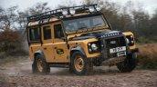 Land Rover Defender Works V8 Trophy Front Quarter