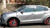 Maruti Suzuki Baleno Hyrid Spied Side Profile