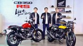 Honda Cb350 Rs Launch