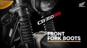 Honda Cb350rs Front Fork Boots
