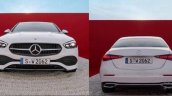 2021 Mercedes Benz C Class Front And Rear
