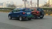 Ford Ecosport Se Spied During Shoot