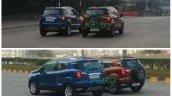Ford Ecosport Se Spied During Shoot Rear Quarter