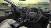 Tata Safari Adventure Persona Interior Dashboard