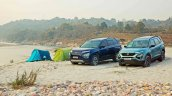 Tata Safari Adventure Persona With Regular Safari
