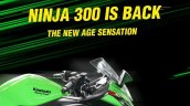 Bs6 Kawasaki Ninja 300 Sneak Peak