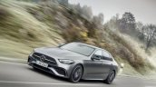 2021 Mercedes Benz C Class Front Quarter Action Sh
