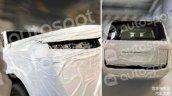Next Gen Toyota Land Cruiser Exterior Spied
