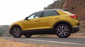 2020 Vw T Roc Review Side View
