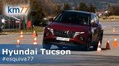 2021 Hyundai Tucson Moose Test Front 3 Quarters