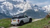 2021 Mini Countryman Rear Three Quarters Mountains