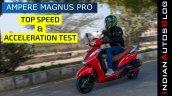 Ampere Magnus Pro Top Speed Test