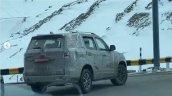 Mahindra Scorpio High Altitude Testing Spied 2