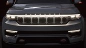 2021 Jeep Grand Wagoneer Concept Front Hrille Ligh