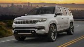 2021 Jeep Grand Wagoneer Concept Front Three Quart