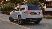 2021 Jeep Grand Wagoneer Concept Rear Three Quarte