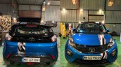 Modifed Tata Nexon Front View And Rear View