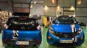 Modifed Tata Nexon Front View And Rear View