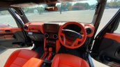 2020 Mahindra Thar Modified Interior Dashboard 1