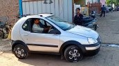 Modified Tata Indica Two Door Side View