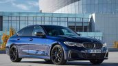 Bmw M340i Xdrive Front Three Quarters Blue 1
