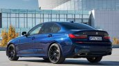 Bmw M340i Xdrive Rear Three Quarters Blue 1