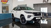 Modified Toyota Fortuner Facelift Front 3 Quarters