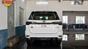 Modified Toyota Fortuner Facelift Rear View