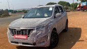 Next Gen Mahindra Xuv500 Spied Front Quarter