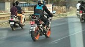 Ktm Rc 200 Rc 125 Spy Shot Rear Quarter
