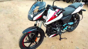 2021 Bajaj Pulsar 150 Moon White Front Left