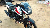 2021 Bajaj Pulsar 150 Moon White Front Right