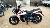 2021 Bajaj Pulsar 150 Moon White Left Side